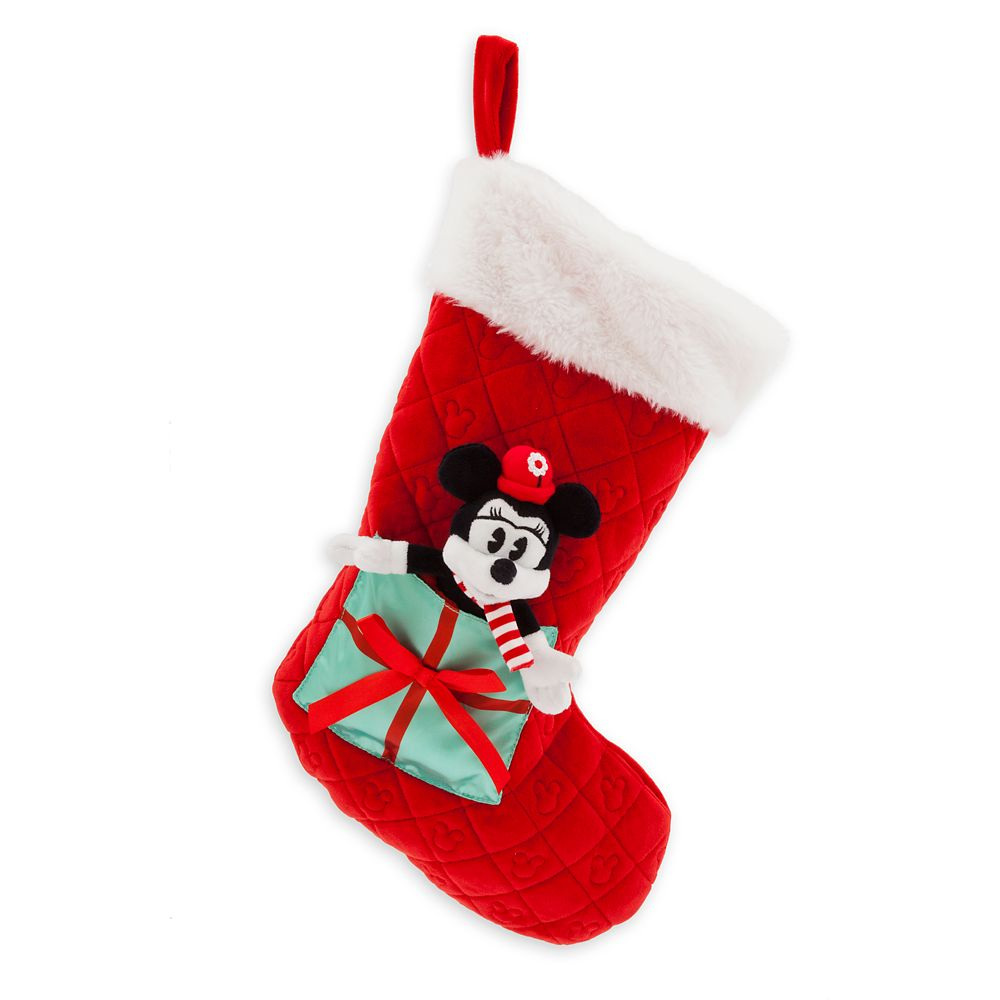 Minnie Mouse Plush Holiday Stocking