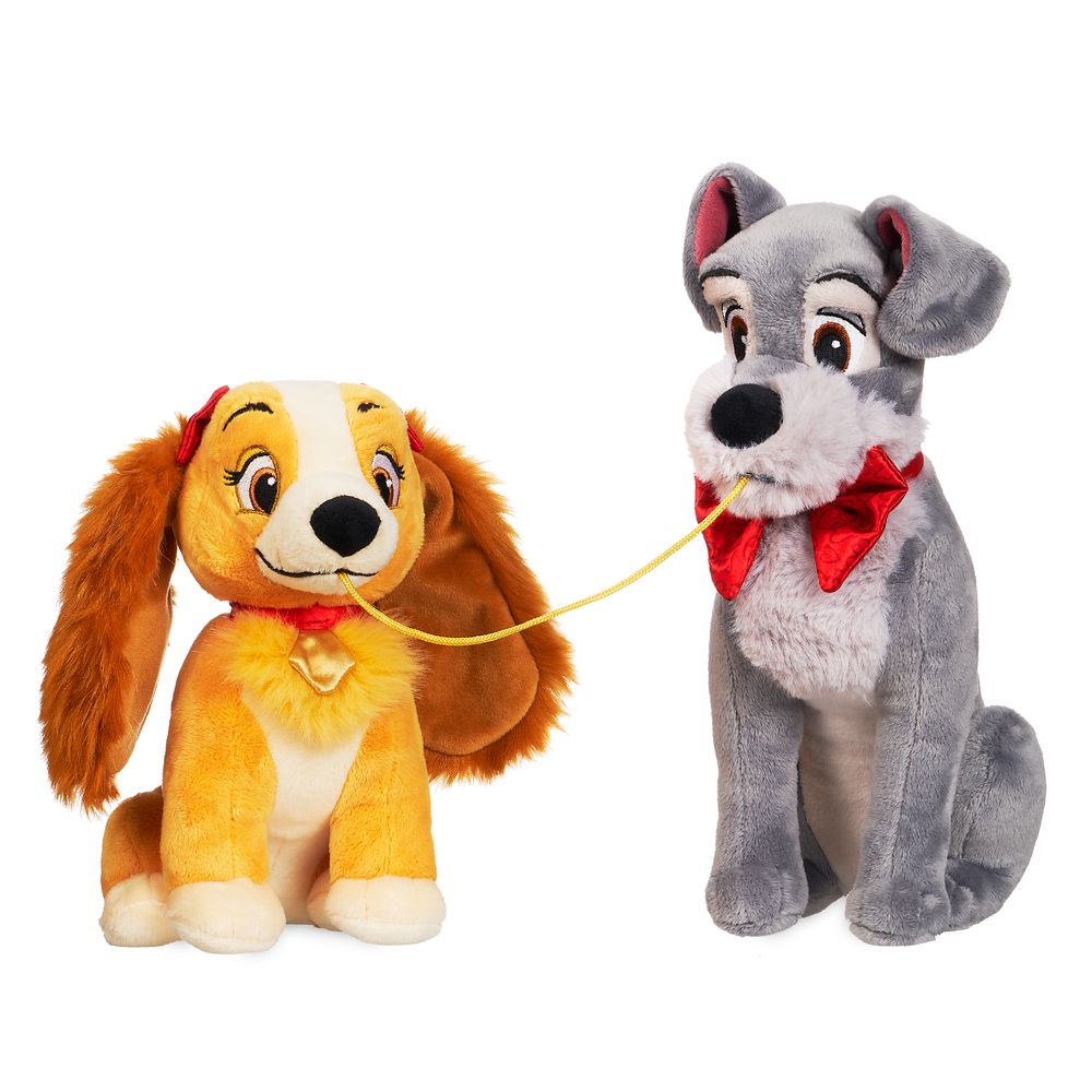 Lady and the Tramp Plush Set – Valentine's Day – Small