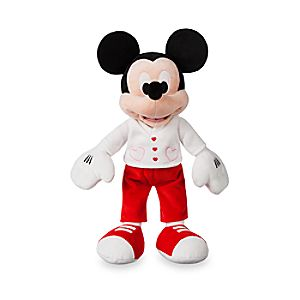 Mickey Mouse Plush - Valentine's Day - Small - 15''