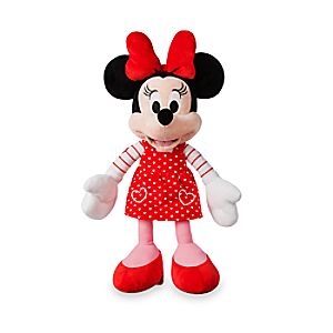 Minnie Mouse Plush - Valentine's Day - Small - 15''