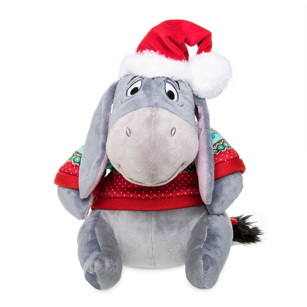 Eeyore Holiday Plush – Medium – 12''