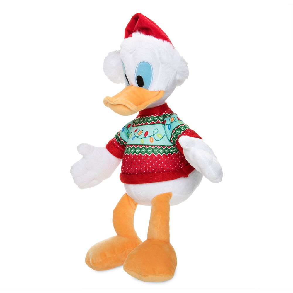 Donald Duck Holiday Plush – Medium – 15''