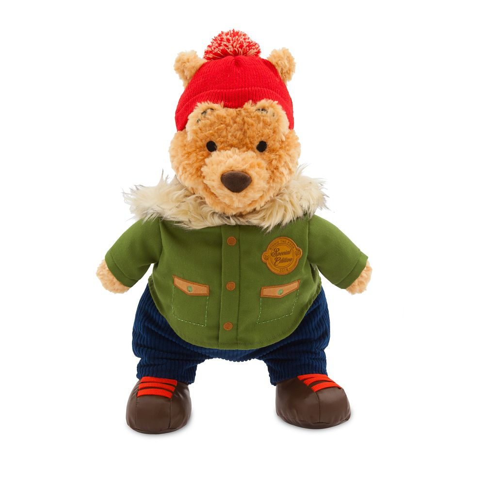 Winnie the Pooh Holiday Plush – Medium – 16'' – Special Edition 2019
