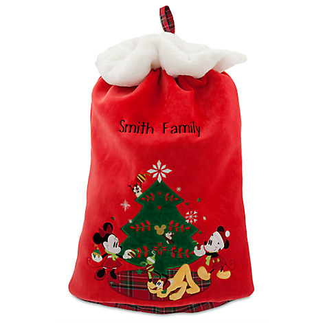Mickey Mouse and Friends Plush Santa Sack - Large - Personalizable