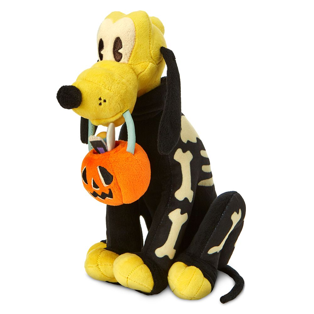 Pluto Halloween Plush – 11''
