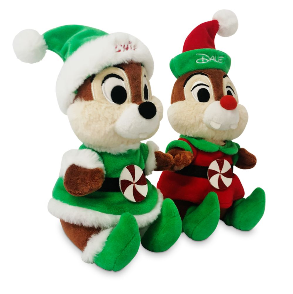 Chip 'n Dale Holiday Plush Set – Small 7''