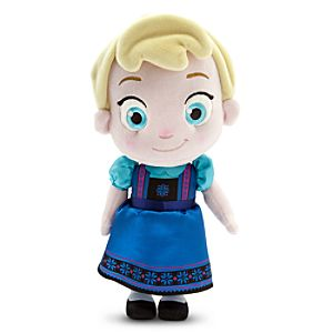 Toddler Elsa Plush Doll - Small - 12 - Frozen