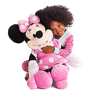 Minnie Mouse Plush - Pink - Large - 27''