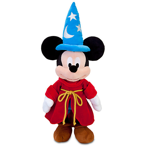 Sorcerer Mickey Mouse Plush - Medium - 24''