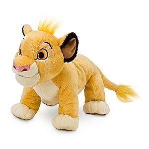 Simba Plush - The Lion King - Medium - 11''