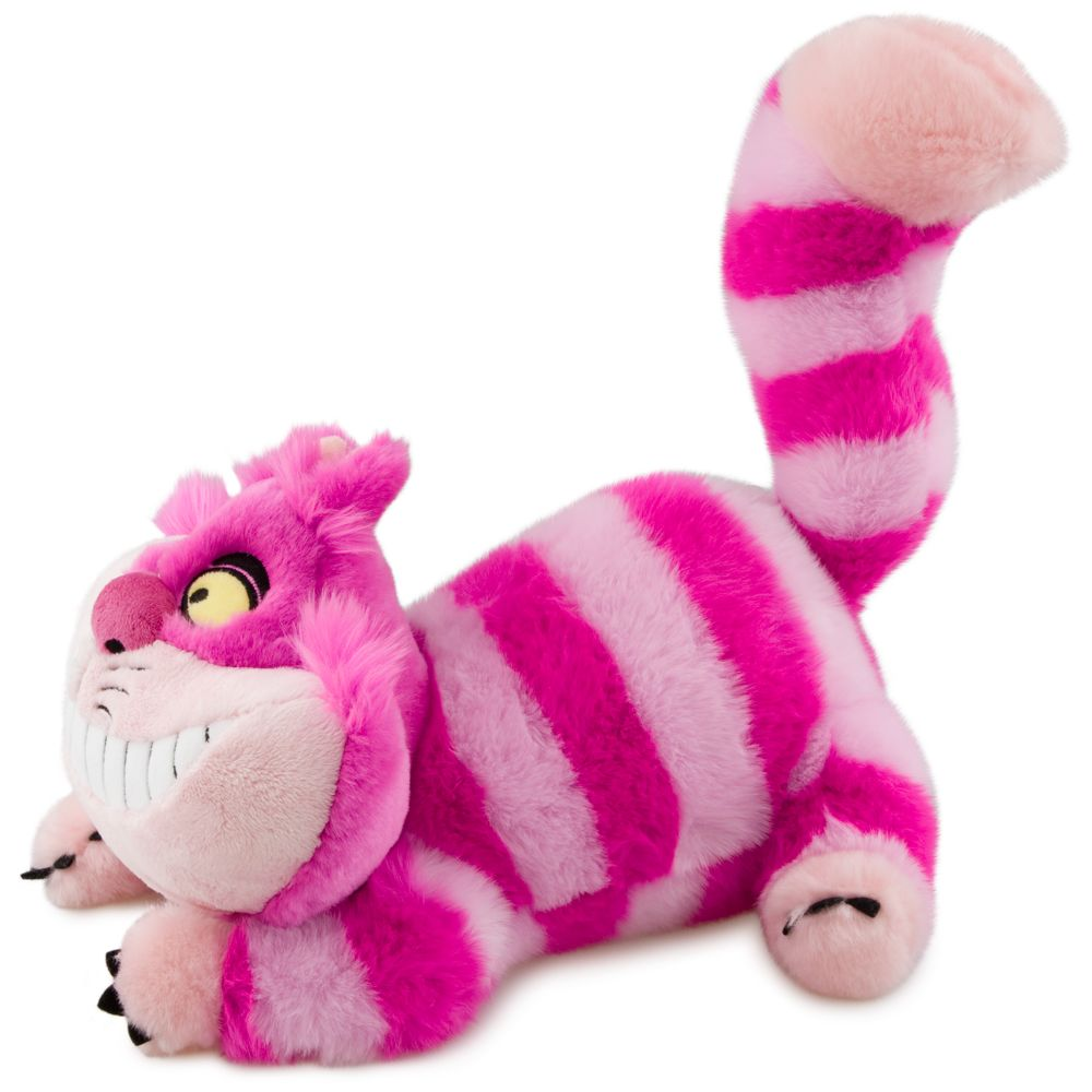 "Disney Store Exclusive Alice in Wonderland Cheshire Cat 20/"" Plush"