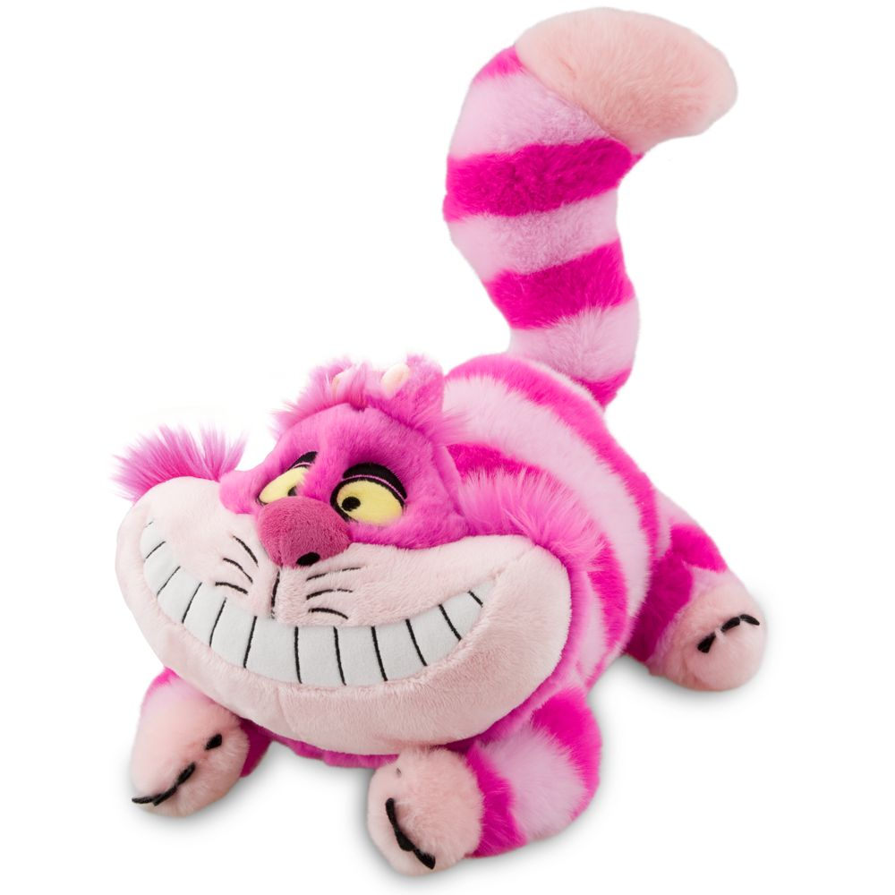 "Cheshire Cat Plush  Alice in Wonderland  Medium  20"" Official shopDisney"