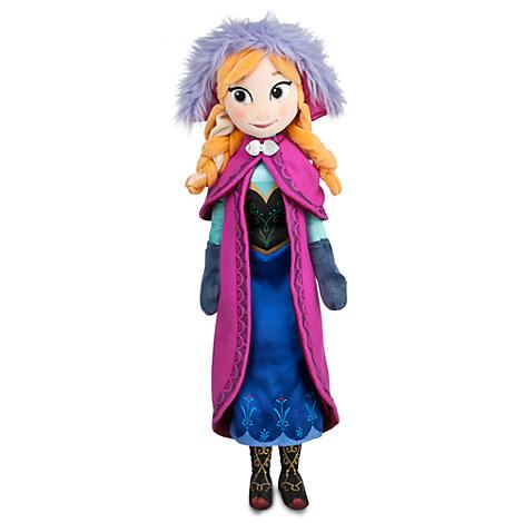 Anna Plush Doll - Frozen - Medium - 20''