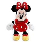 Minnie Mouse Plush - Red - Mini Bean Bag - 9 1/4''