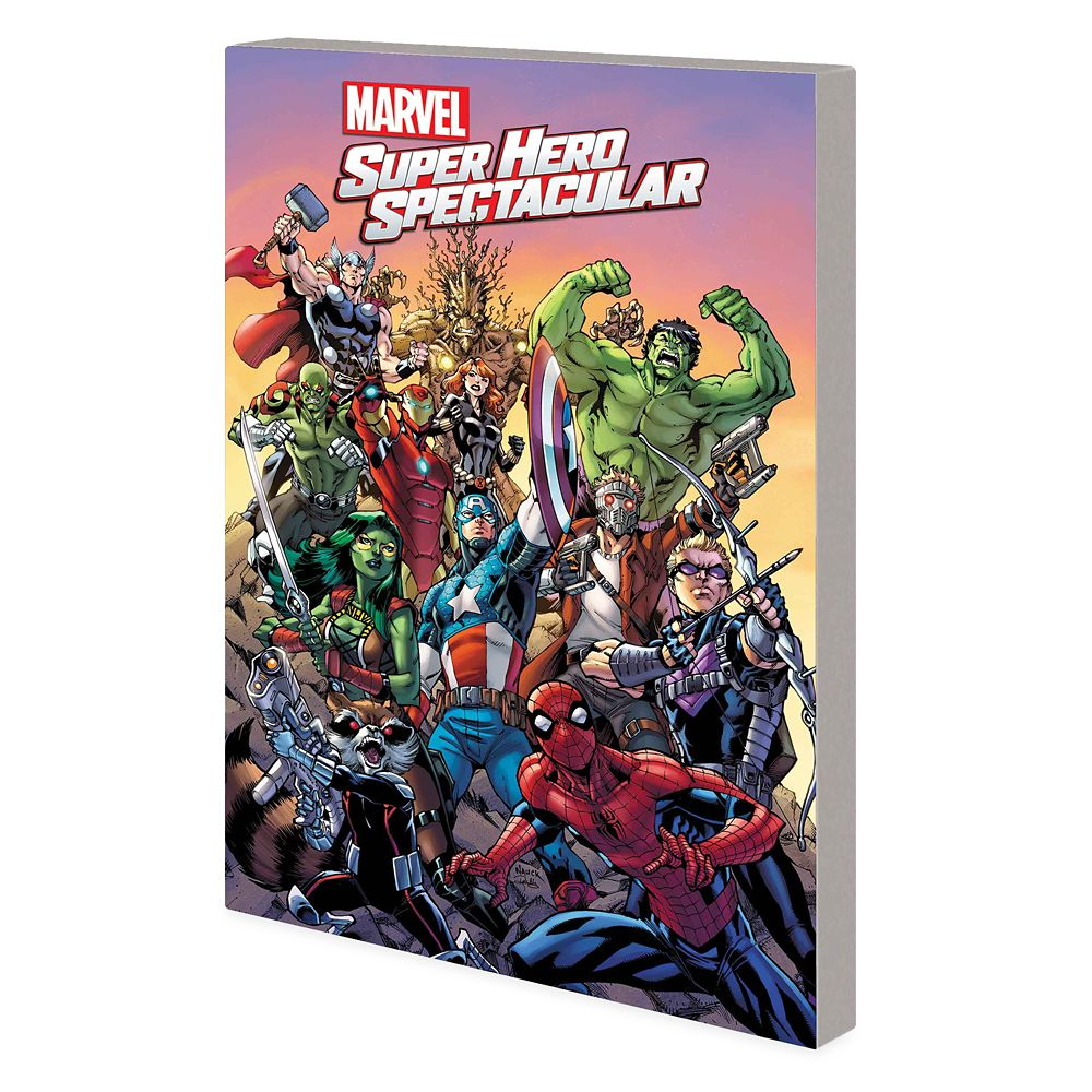 Marvel Super Hero Spectacular Book