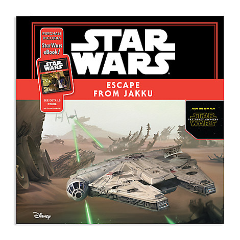 Star Wars: The Force Awakens - Escape from Jakku Book