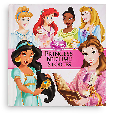 Disney Princess Bedtime Stories Book