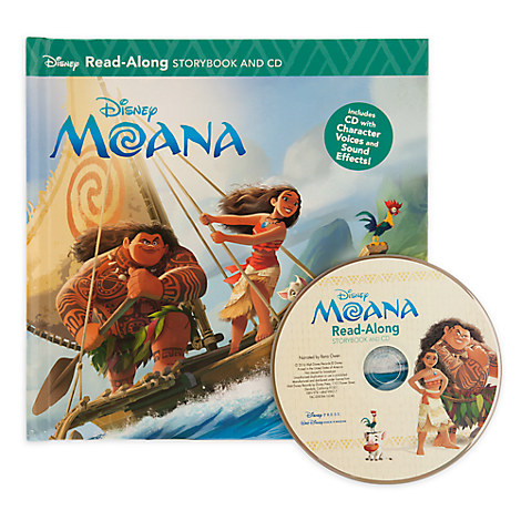 Disney Moana Read-Along Storybook and CD