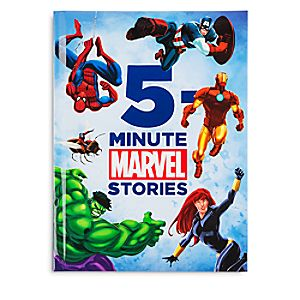 5-Minute Marvel Stories Book