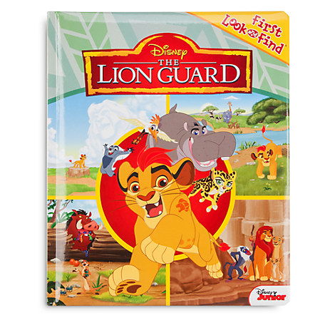 The Lion Guard First Look and Find Book