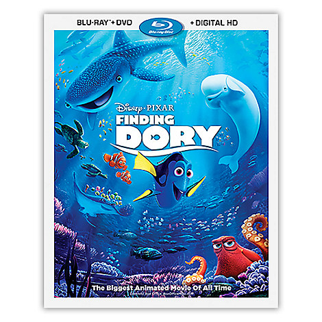 Finding Dory Blu-ray Combo Pack with FREE Lithograph Set Offer - Pre-Order