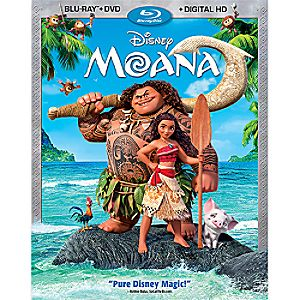 Disney Moana Blu-ray Combo Pack with FREE Lithograph Set Offer - Pre-Order