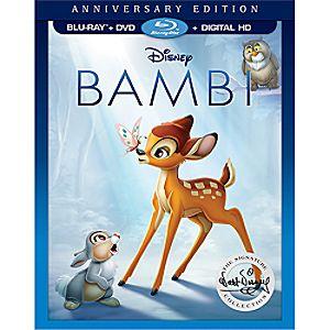 Bambi Anniversary Edition Blu-ray Combo Pack 1322002491969P