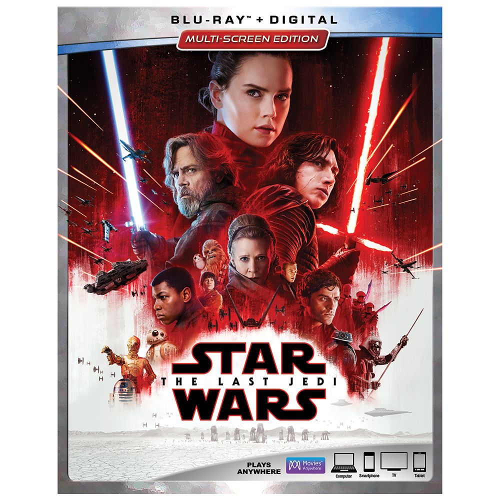 Star Wars: The Last Jedi Blu-ray Multi-Screen Edition