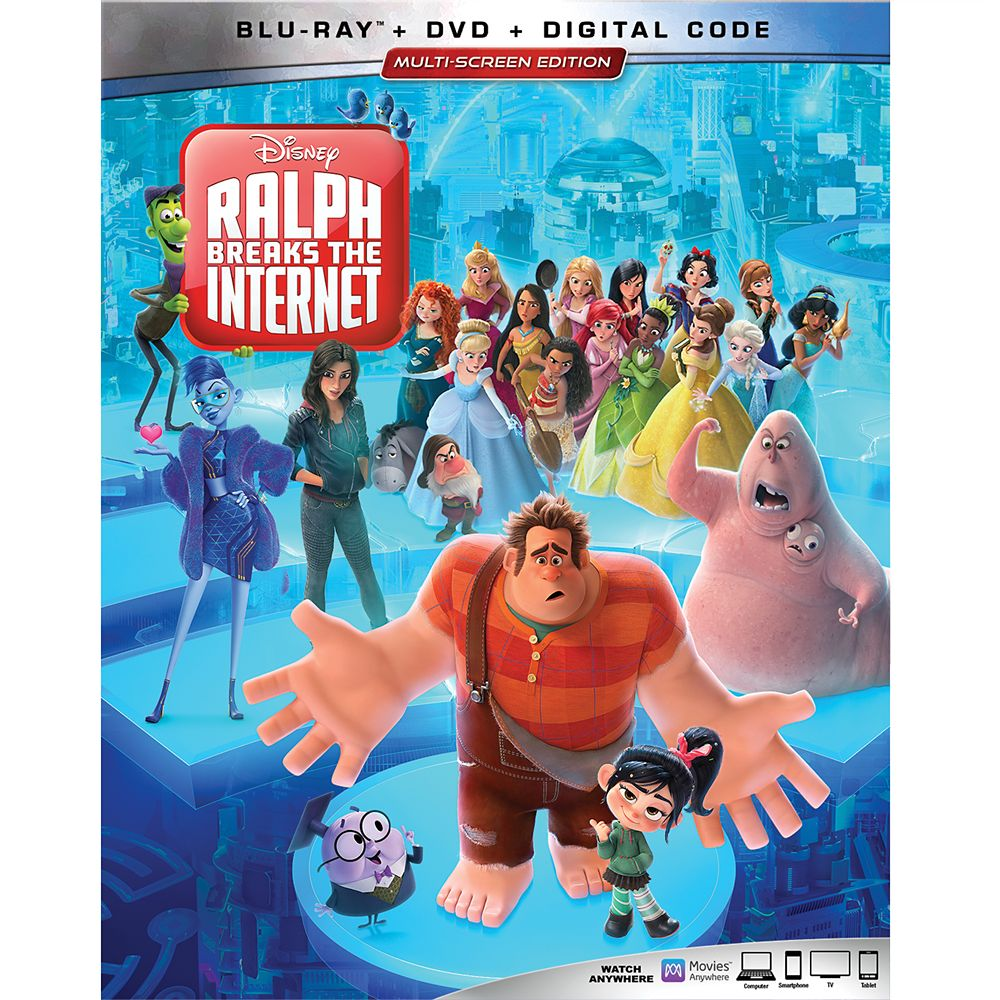 Ralph Breaks the Internet Blu-ray Combo Pack Multi-Screen Edition