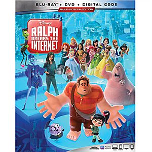 Ralph Breaks the Internet Blu-ray Combo Pack Multi-Screen Edition with FREE Lithograph Set Offer - Pre-Order
