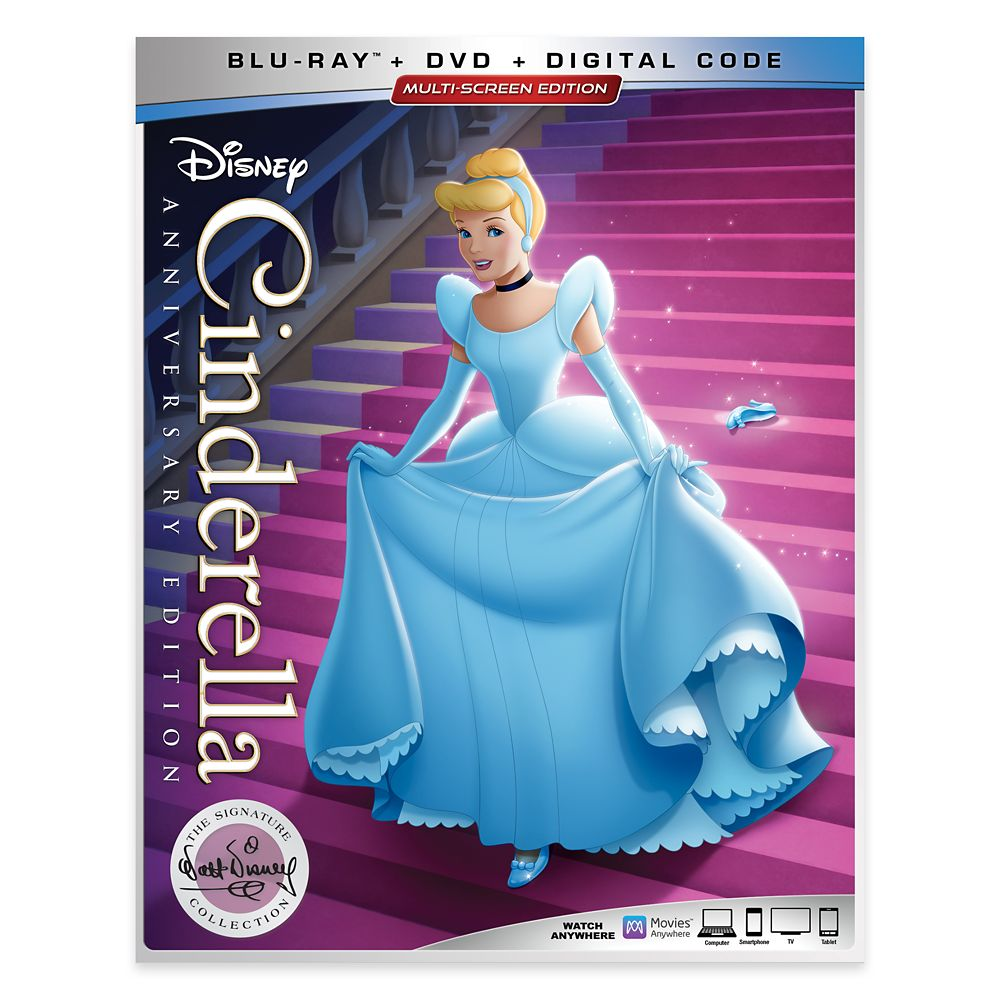 Cinderella Blu-ray Combo Pack Official shopDisney