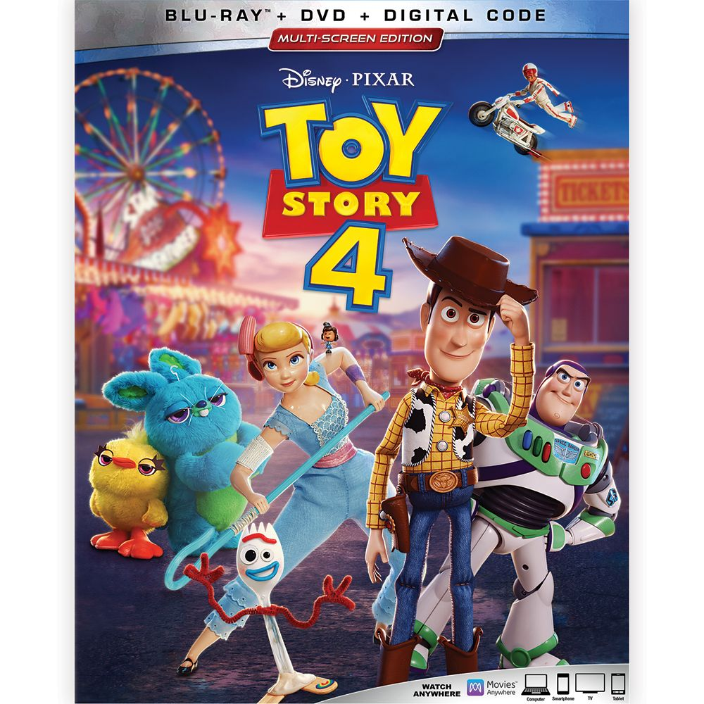 Toy Story 4 Blu-ray Combo Pack Multi-Screen Edition with FREE Lithograph Set Offer – Pre-Order