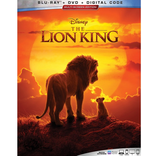 The Lion King Blu-ray Combo Pack – 2019 Film
