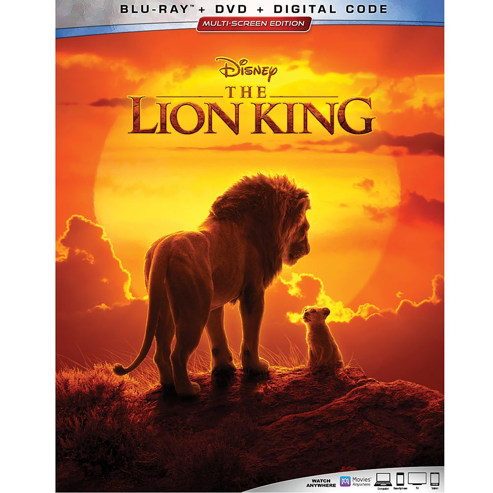 The Lion King Blu-ray Combo Pack – 2019 Film – with FREE Lithograph Set Offer – Pre-Order