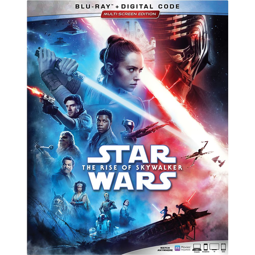 Star Wars: The Rise of Skywalker Blu-ray Combo Pack Multi-Screen Edition