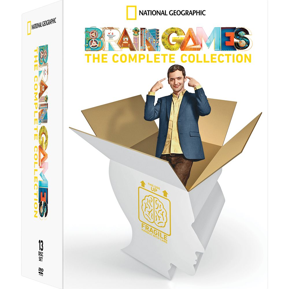 Brain Games The Complete Collection DVD – National Geographic