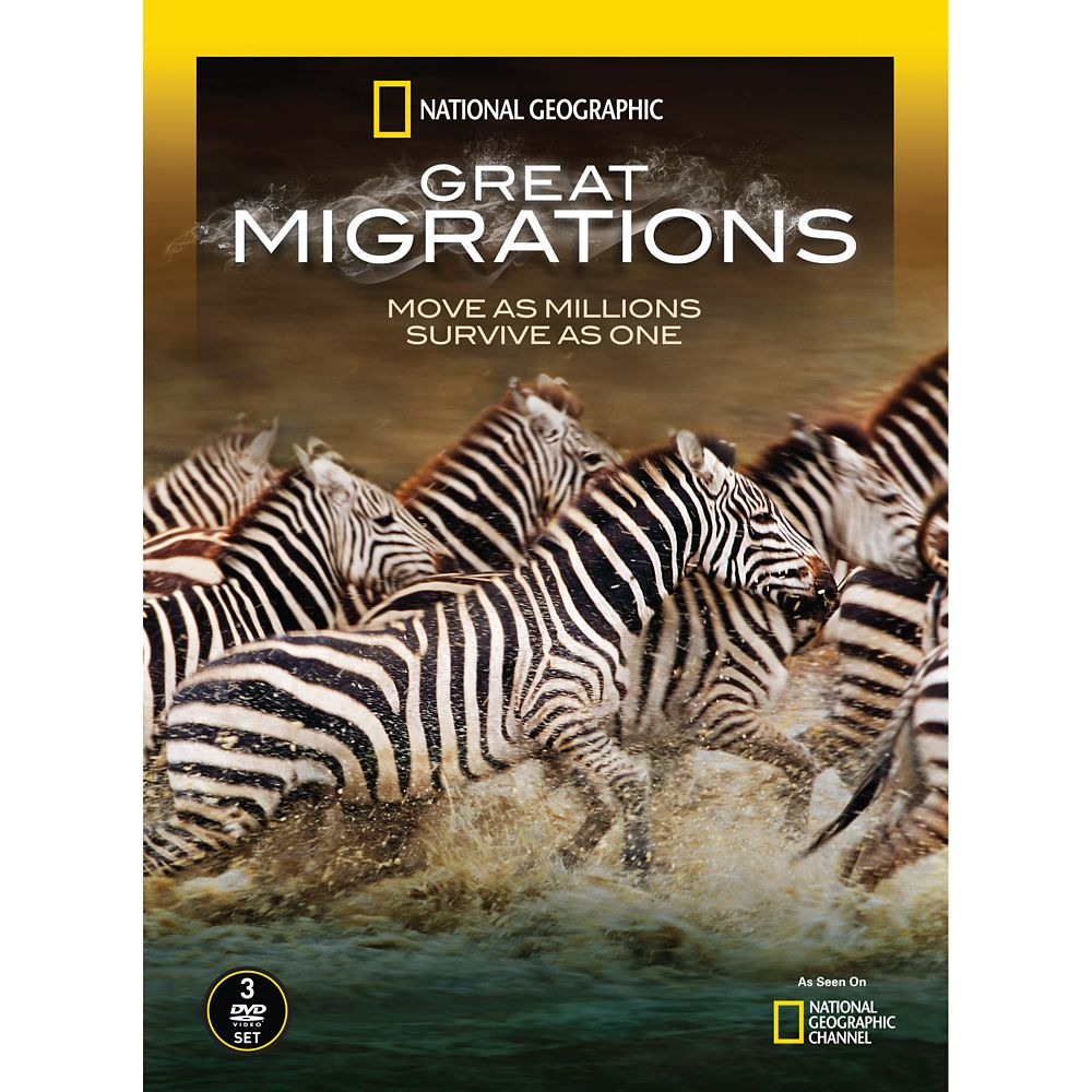 Great Migrations DVD – National Geographic