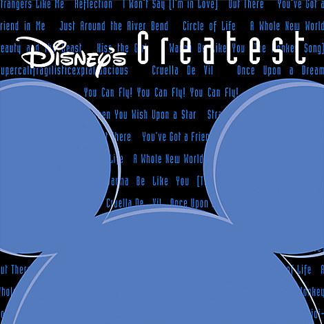 Disney's Greatest CD