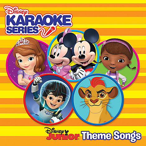 Disney Karaoke Series - Disney Junior Theme Songs CD
