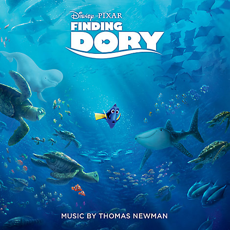 Finding Dory Soundtrack CD