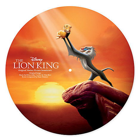 The Lion King Soundtrack Vinyl Picture Disc