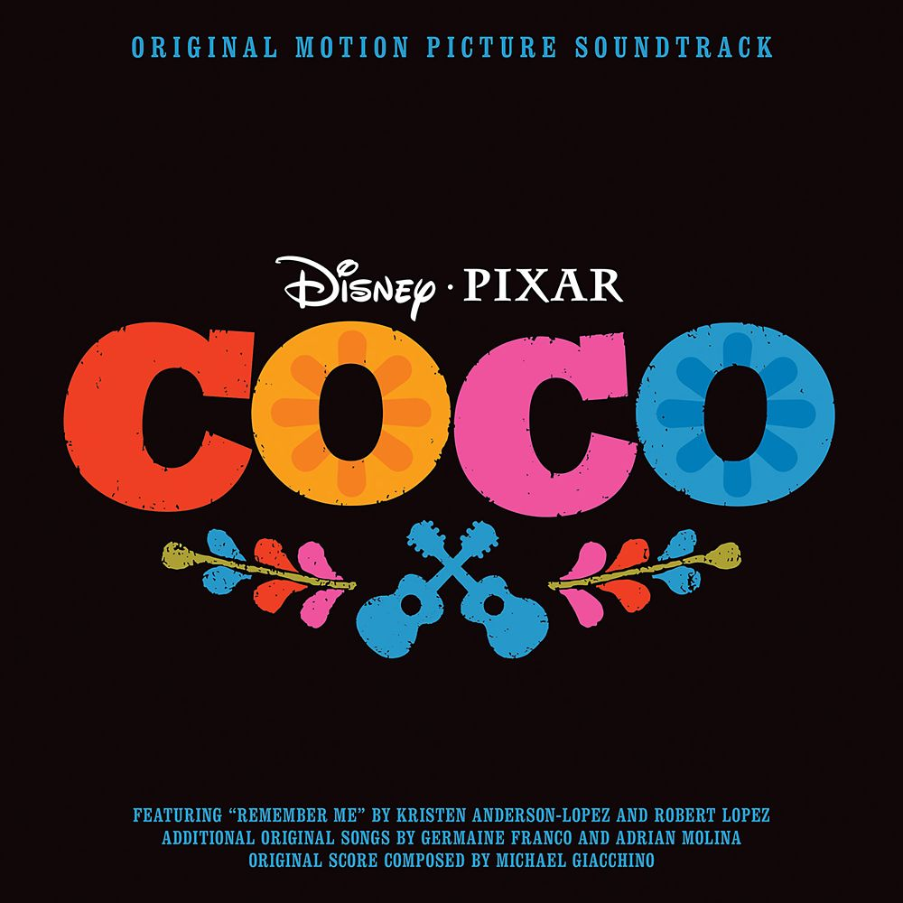 Coco Soundtrack CD