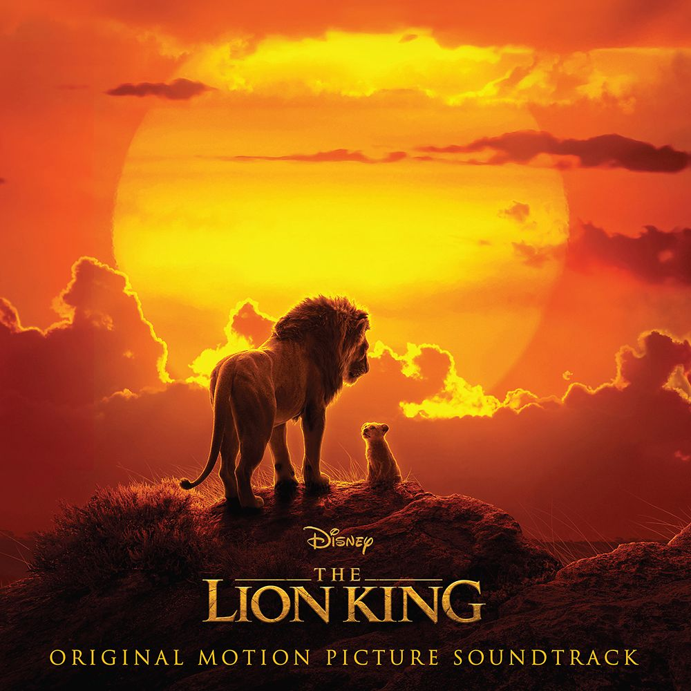 The Lion King Soundtrack 2019 Film Official shopDisney