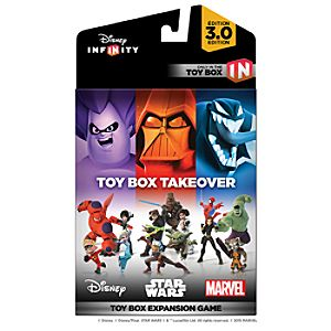 Disney Infinity: Toy Box Takeover (A Toy Box Expansion Game) - (3.0 Edition) 1324039601786P