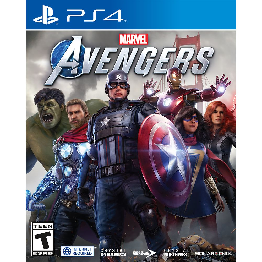 Marvel Avengers Video Game for PS4