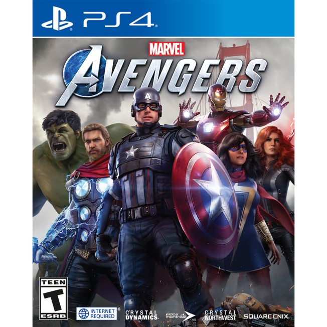 Marvel Avengers Video Game for PS4