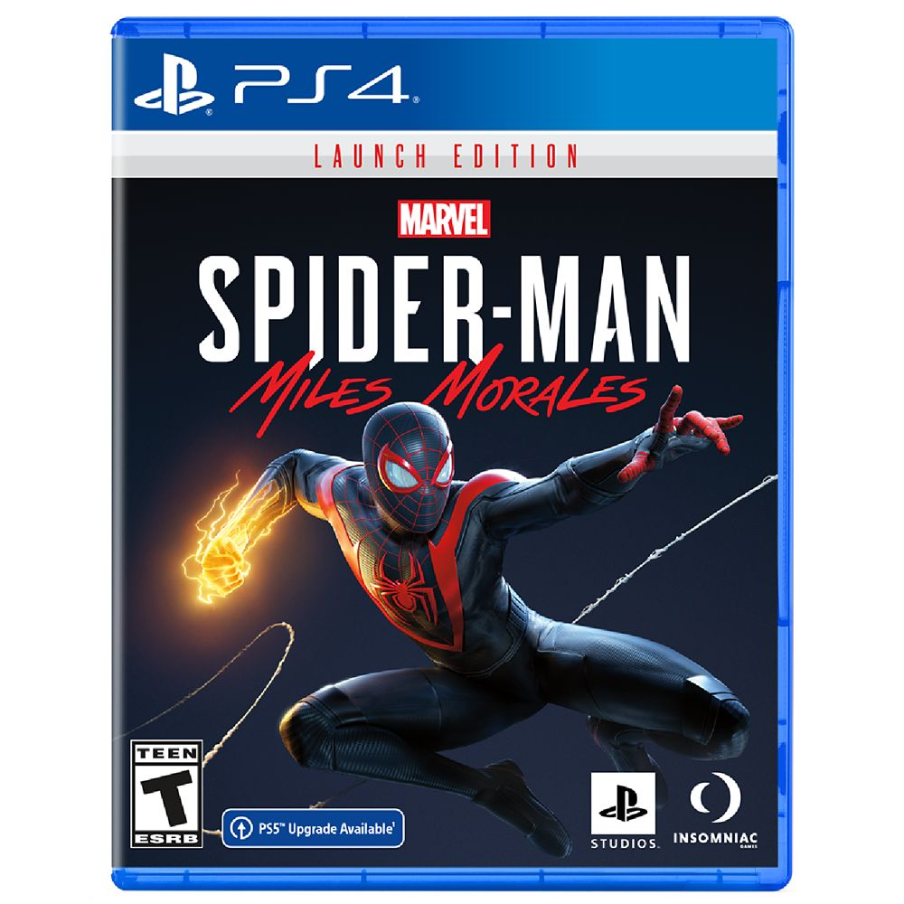 Spider-Man: Miles Morales Video Game for PS4 – Launch Edition