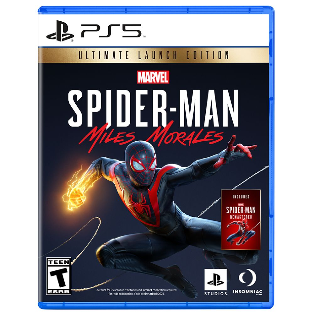 Spider-Man: Miles Morales Video Game for PS5 – Ultimate Launch Edition