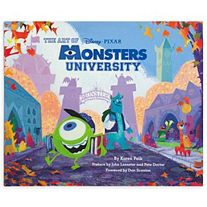 The Art of Monsters University Book