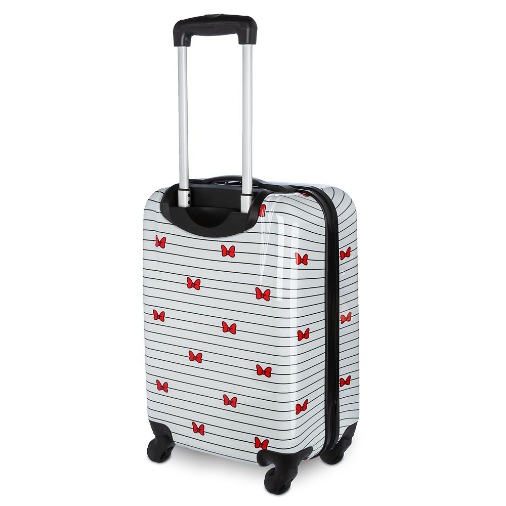 Minnie Mouse Bows Rolling Luggage – Small